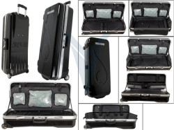 AVALON - AVALON CASE TEC ONE ABS CASE WITH WHEELS BLACK